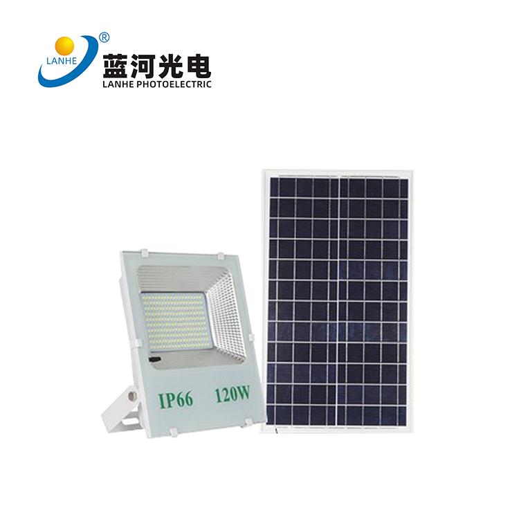 LED solar flood light 120W