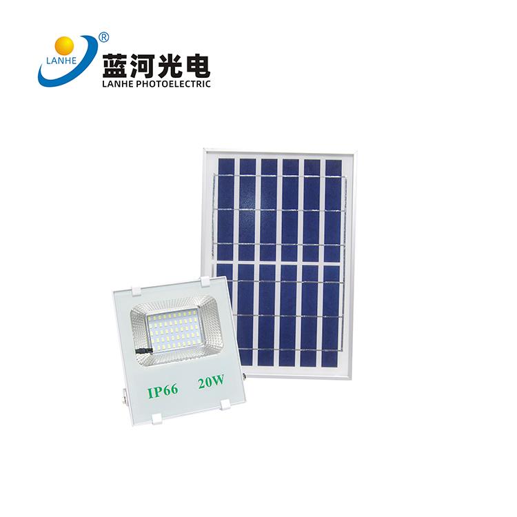 LED solar flood light 20W